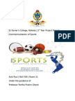 Project on Commercialisation of Sports.docx
