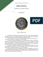 Iglesia Luterana Introduccion a Su Doctrina e Historia