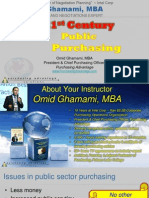 Advanced Public Purchasing Excellence Series