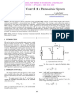 Dual – MPPT Control of a Photovoltaic System