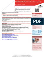 TOGAF2 Formation Togaf Certified Architecture d Entreprise
