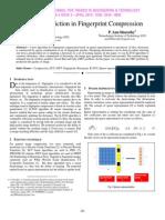 Quality Prediction in Fingerprint Compression