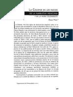 Artículo - Mata, Oscar - La Colonia en Los Inicios de La Narrativa Mexicana y en La Moda Colonialista
