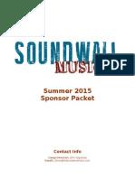 Sponsor Packet