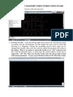 Modeling of Masonry Structures Using ETABS