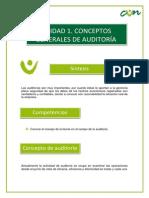 Unidad 1.-Auditoria y Control Interno