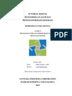Penajaman Citra dan Pemfilteran Spasial dengan ER Mapper
