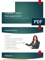Supply Chain Management - Pertemuan 1
