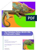 The Chameleon Cipher-192 (CC-192)