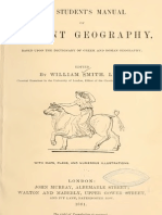 Student Manual of Ancient Geography - Smith