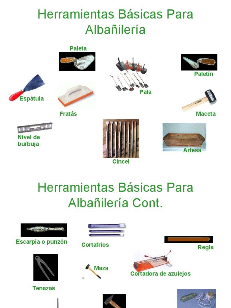 Herramientas Basicas Para Construccion - photo#8