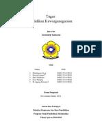 Tugas Soal dan Jawaban Geostrategi Indonesia