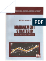 Management Strategic Manual