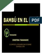 Bambu en El Peru