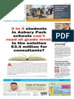 Asbury Park Press front page Monday, May 4 2015