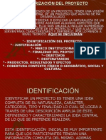 Caracterización del proyecto