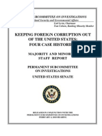Keeping Foreign Corruption Out of the United States