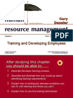 CH08 Training - dessler 10th edition