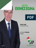 Getxo Ekinez Egina