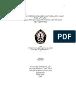 FAKTOR-FAKTOR RISIKO KEJA DIAN BATU SALURAN KEMIH PADA LAKI-LAKI (Studi Kasus di RS Dr. Kariadi , RS Roemani dan RSI Sultan Agung Semarang)