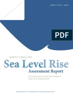 NC Sea Level Rise final draft report