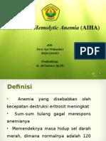 Anemia Hemolitik Autoimun (AIHA)