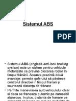 Sistemul ABS