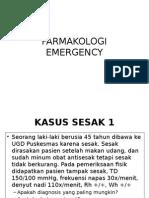 Farmakologi Emergency