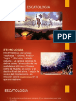 escatologia de la iglesia
