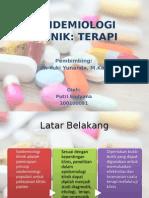 Epidemiologi Klinik Terapi Ppt