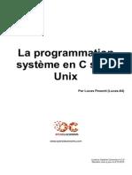 La Programmation Systeme en c Sous Unix