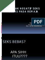 DAMPAK NEGATIF SEKS BEBAS PADA REMAJA.pptx