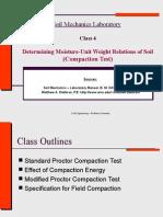 Class 4 - Soil Compaction