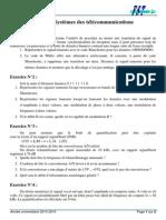 TD N°4 Systèmes des télécommunications
