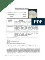 Experiment 29 Zinc Oxide Ointment