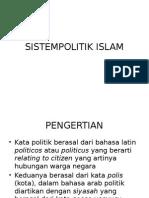 Sistempolitik Islam