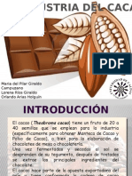 Agroindustria del cacao