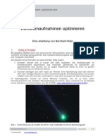 Kometenaufnahmen