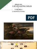Presentacion Carlos i de España y v de Alemania