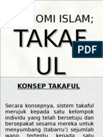 Ekonomi Islam Takaful