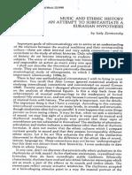 Zemtsovsky Music and History PDF