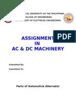 Parts of Automotive Alternator