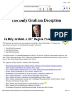 Billy Graham Deception