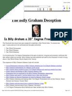 Billy Graham Deception