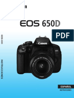 EOS 650D Instruction Manual ES
