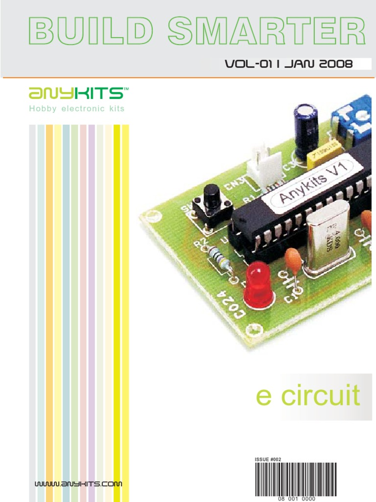 Anykits Magazine Stereo Tape Head Preamplifier Using La3161