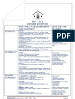 Semester Overview Unit 1 Term 1 2010