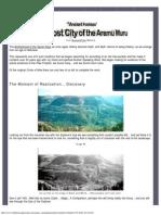 A Lost City of the Aramu Muru
