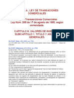 Ley de Transacciones Comerciales
