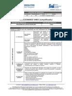 WBS Diccionario Simplificado
